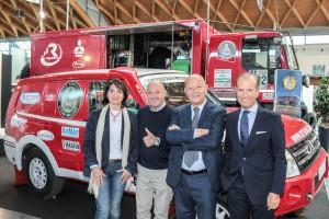 Sara Grossi, Miki Biasion, Lorenzo Cagnoni e Corrado Facco
