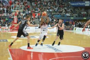 Marcus Thornton contro Caserta (Foto Filippo Baioni)
