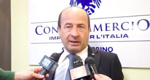 Amerigo Varotti stamane a Urbino