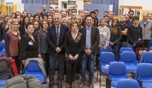 Tagliolini con Marchegiani Gennari e gli studenti