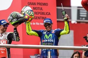 Valentino Rossi in Argentina (foto tratta dalla pagina Fb Valentino Rossi VR46 Official)