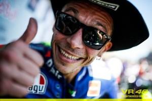 Valentino Rossi in Texas (foto tratta da Fb Valentino Rossi VR46 Official)