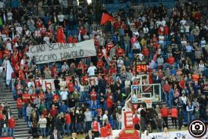 """I tifosi onorano la memoria di """"Sciabla"""" (Foto Filippo Baioni)"""