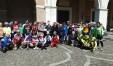 Cicloamatori a Fano da tutta Europa: foto di gruppo