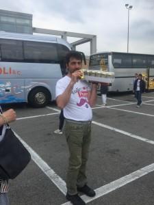 Un tifoso del Volley Pesaro