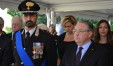 Il comandante provinciale Marco Filoni e il prefetto Luigi Pizzi