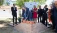La posa della pietra in via Lamarmora del premier Gentiloni