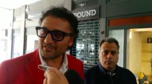 Il dottor Mecozzi (a destra) e l'avvocato Carella (screenshot tratto da video http://ifg.uniurb.it)