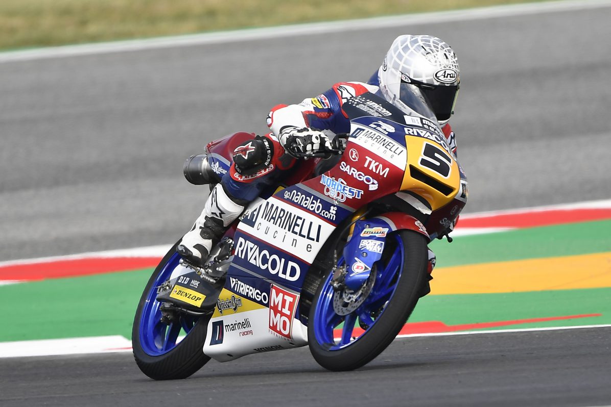 Moto: Catalogna, Martin pole in Moto 3