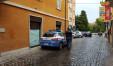 Polizia di Fano intenta nell'operazione