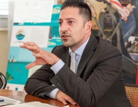 Daniele Tagliolini, presidente della Provincia di Pesaro e Urbino