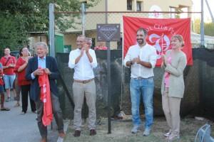 L'intitolazione del campo a Norberto Crinelli