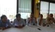 Conferenza stampa Fiorenzuola di Focara dopo incendio San Bartolo