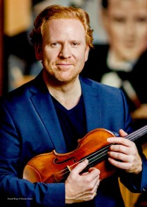 Daniel Hope, il grande violinista inglese (dalla pagina Facebook)