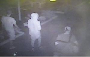 Stupri di Rimini, fotogramma apparso sui media