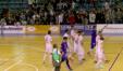 L'esultanza dell'Italservice dopo il 7-2 sull'IC Futsal Imola Castello