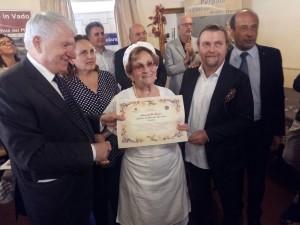 La Maria premiata dalla Confcommercio