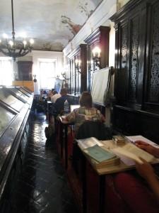 Biblioteca Oliveriana - Sala dello Zodiaco