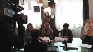 L'odierna conferenza stampa di presentazione del progetto Dieci Decimi