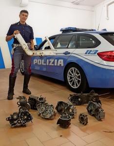 Polizia stradale rinviene materiale rubato 40 anni fa