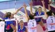 Katarina Barun in maglia Novara nella finale contro Modena- oggi è nella Liu Jo (Foto Rubin:Lvf)