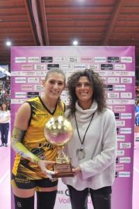 Camilla Mingardi premiata daConsuetoMangifesta(Foto Marini/Lvf)