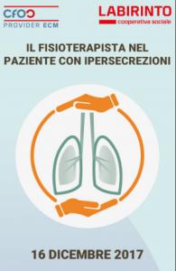 Il trattamento fisioterapico nel paziente con ipersecrezioni
