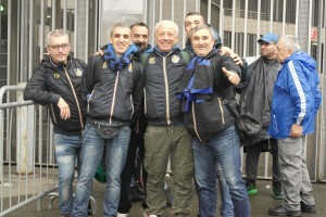 Il direttivo Inter Club a San Siro