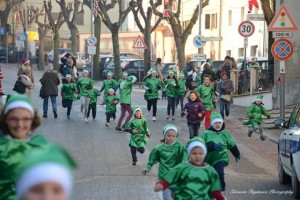 corsa dei piccoli elfi