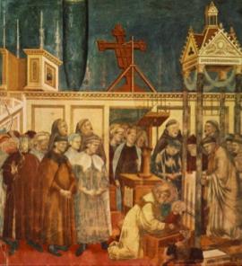 Il presepe di Greccio (Affresco di Giotto)