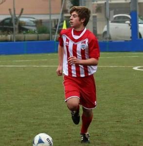 Matteo Ghiselli con la maglia della Vis