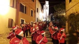 La banda di Colombarone a Fiorenzuola