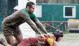La meta di Filippo Pozzi contro Livorno (FOTO CORRADO BELLI)
