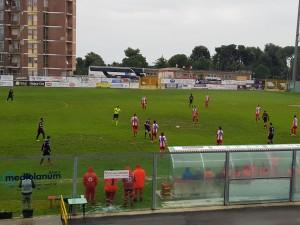 Un'azione nella prima metà di Vastese-Vis Pesaro