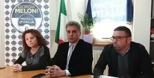 Baldelli e gli altri due candidati