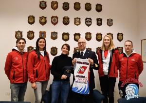 Volley Pesaro - GC foto WAVES