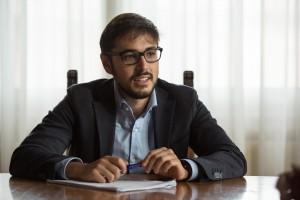 Il sindaco di Mondolfo Nicola Barbieri