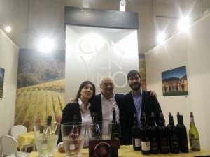 Mattia, Egidio e Francesca Marcantoni