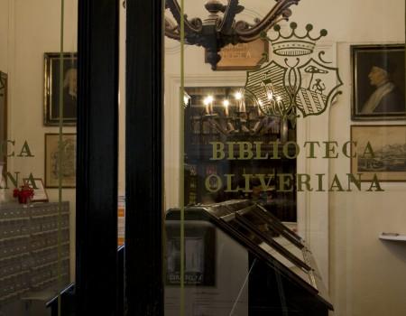 Ingresso biblioteca oliveriana