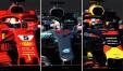 Ferrari, Mercedes e Red Bull