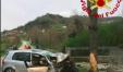 L'auto dove ha trovato la morte il povero 23enne