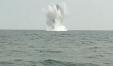 La foto dell'esplosione della bomba