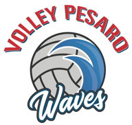 pesaro volley waves logo