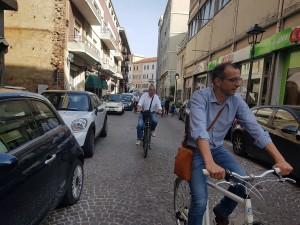 ricci in bici
