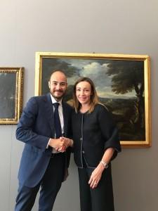Andrea Staffolani e Lorena Fulgini