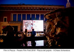 Piazza del Popolo allla 54esima Mostra del Nuovo Cinema (Foto Chiara Schiaratura)