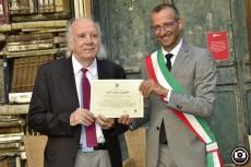 La Gratutidine del Comune di Pesaro al professor Guido Lucarelli 00031