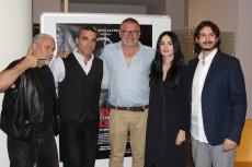 Massimiliano Giometti con il cast del film Rabbia Furiosa