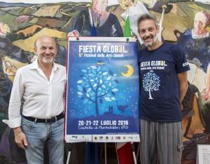 Il sindaco Palmiro Ucchielli e Alessandro Mengarelli