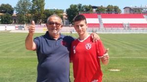 David Ivan con Roberto Bizzocchi